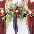 Jesenná svadobná výzdoba